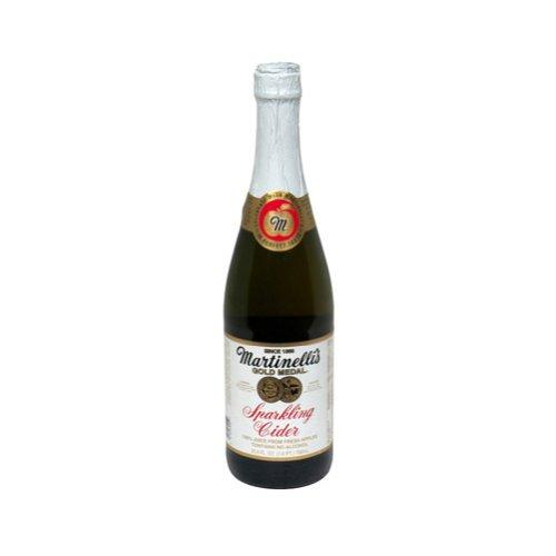 Martinelli's Gold Medal Sparkling Cider (412446) 25.4 oz (Pack of 12)