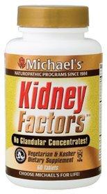 Productos para la salud de Michael - factores renales, 60 comprimidos [salud y belleza]