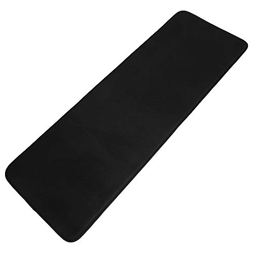 Bottom Seat Rear - Car Seat Cushion Rear Bench Memory Foam Car Seat Cushion Rear Car Seat Cover, Seat Cushion with Super Breathtable Cover for Wheelchair/Office Chair and Anti-Slip Bottom Black (50x17 Inch, 1 PCS)