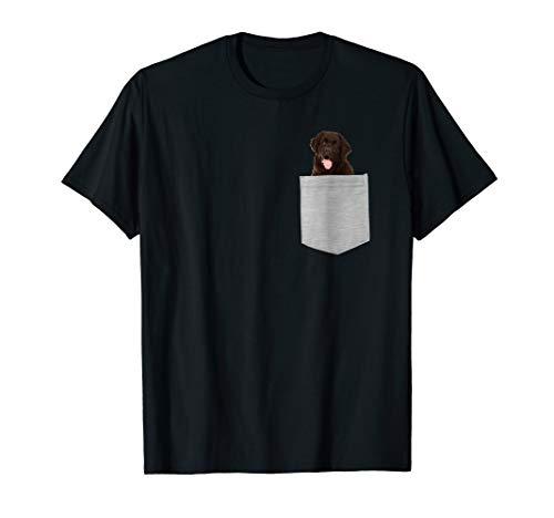 Newfoundland Dog In Your Pocket T-shirt