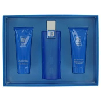 - Bora Bora Exotic by Liz Claiborne - Gift Set -- 3.4 oz Eau De Cologne Spray + 3.4 oz After Shave Balm + 3.4 oz Body Wash