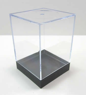 Plastic Figure Display Box Large by Chessex Dice ()