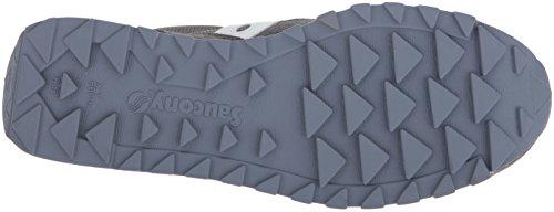 Donna Shadow Bassa Scamosciata Grey Sneaker Pelle White Original Saucony qgadEg