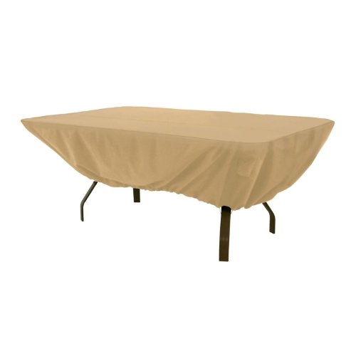 Classic Accessories Terrazzo Rectangular/Oval Patio Table Cover