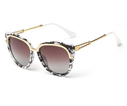 Konalla Fashion Cat Eye Full Frame Polarized UV400 Sunglasses for Womens - Frame Wooden Australia Sunglasses