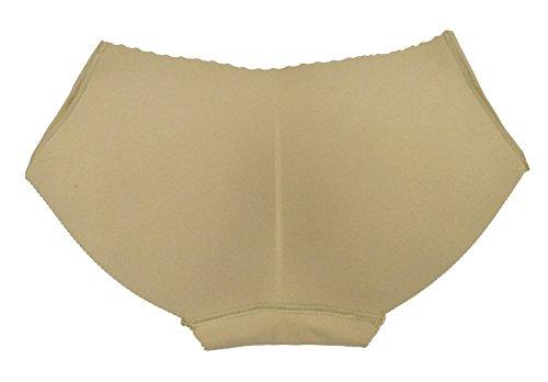 Queenshiny® Soft Comfort de alta elasticidad Mujer Knickers Beige1