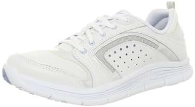 Easy Spirit Women's Litewalk Sneaker,White/ Combination Leather,6 M US