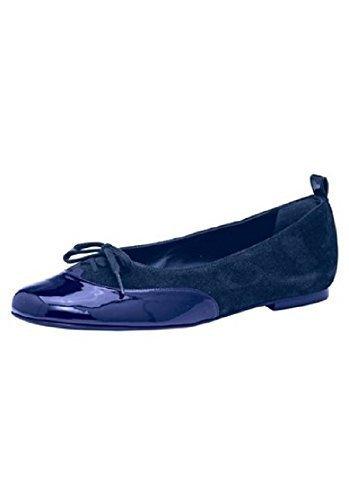 Patrizia Dini Ballerina - Bailarinas de cuero para mujer azul - azul