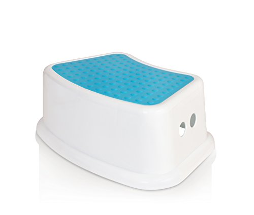 : Kids Best Friend Boys Blue Step Stool, Take It Along in Bedroom, Kitchen, Bathroom and Living Room. Great For potty Training!