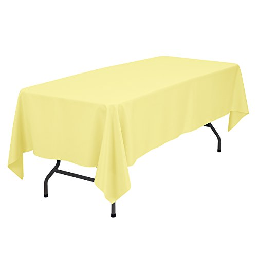 Remedios 60 x 102 inch rectangle polyester tablecloth for 102 inch table runners