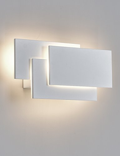 SOLFART LED Wall Lights Sconces Lamps for indoor bedroom living room wall deco lighting (White 4500k)