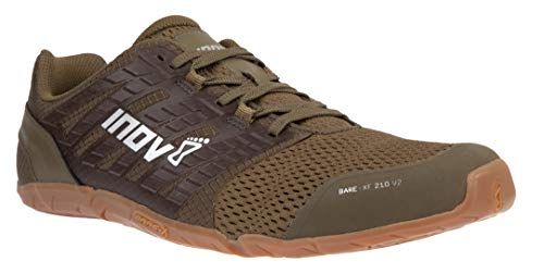 Inov-8 Men's Bare-XF 210 v2 (M) Cross Trainer, Grey/Black/Orange, 10 D US