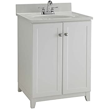 Amazon.com: Ameriwood Heartland Cabinetry Keystone Bath Vanity ...