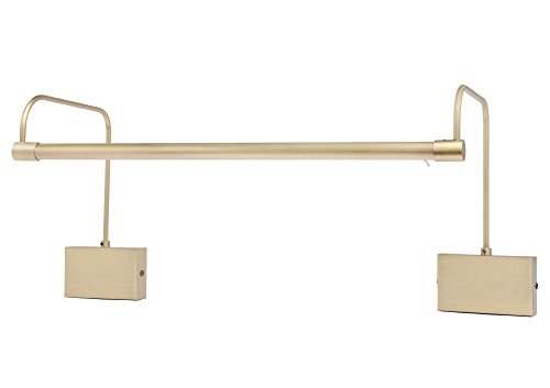 Cocoweb 11 inch Direct Wire Picture Light in Antique Brass DSL11AB-1 by Cocoweb