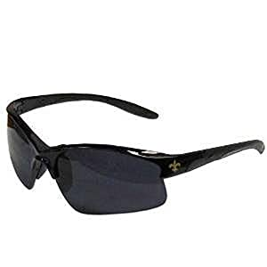 NFL Officially Licensed Team Color Blade Style Sunglasses (New Orleans Saints)