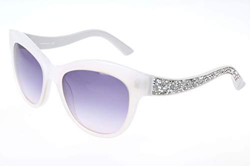 Sunglasses Swarovski SK 110 SK0110 21B white / gradient smoke (Daniel Swarovski)