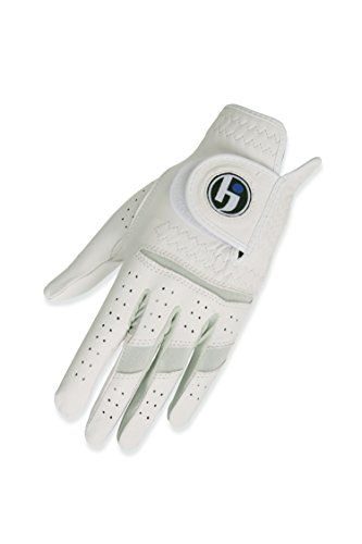 HJ Glove Womens Snow White Durasoft Golf Glove, Large, Left Hand