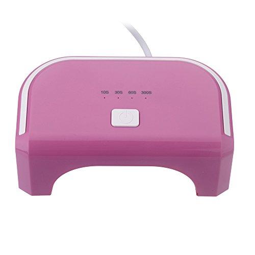 Anself 100-240V 12W LED Nail Dryer Curing Lamp Machine for UV Gel Nail Polish Nail Art Tool Everlasting