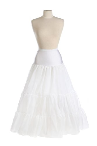 New Medium Full Bridal Control Top Petticoat Crinoline Wedding Gown Slip (Small)