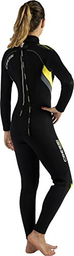 Ladies Full Wetsuit 5mm/7mm Durable Nylon II Neoprene for Scuba Diving   CASTORO LADY by Cressi: quality since 1946