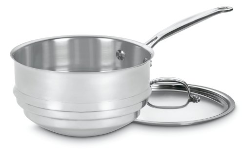 Check expert advices for double boiler insert for cuisinart?