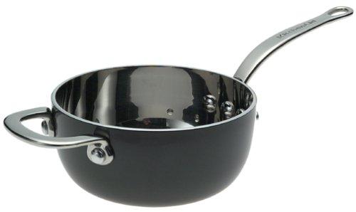 KitchenAid Hi-Density Hard Anodized Clad 1-Quart Saucier
