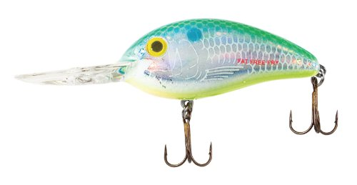 Bomber Fat Free Fingerling Fishing Lure (Dance's Citrus Shad, 2 3/8-Inch, 6.09-cm)