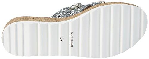 38 Silber Espadrilles Sebastian EU Damen Silver g8InxgqEw5