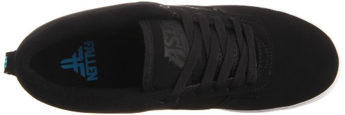 Fallen ROOKIE 41070052 - Zapatillas de skate de ante unisex Black/White