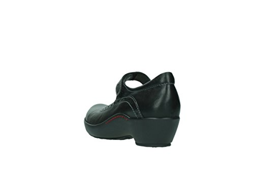 Mary Janes South in Wolky 50000 Comfort nera 03450 pelle T5SZZq