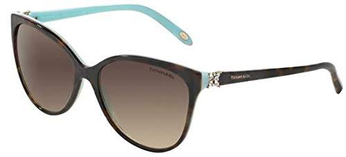 Tiffany TF4089B 8134-3B Tortoise TF4089B Cats Eyes Sunglasses Lens Category 3 -