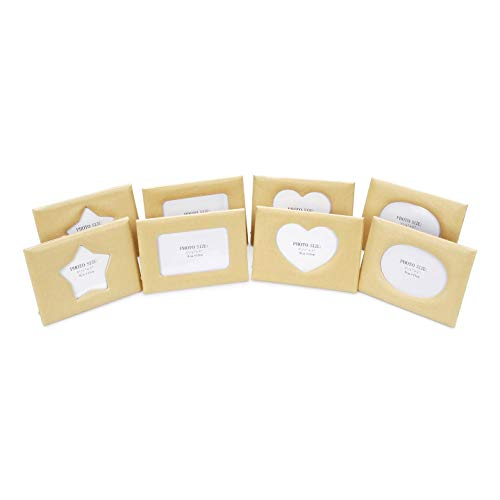 Darice Bulk Buy DIY Paper Mache Frames Assorted Styles 5 x 7 inches 8 Pieces (2-Pack) 1166-BV