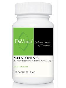 Da Labs Vinci - Melatonin-3 3 mg - 120 Capsules by Davinci Labs