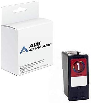 5 New Genuine FACTORY SEALED Lexmark 1 18C0781 # 1 Ink Cartridges BLACK BOX