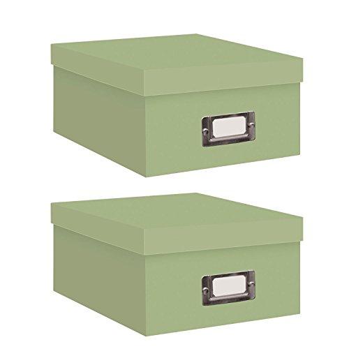 pioneer-photo-albums-photo-storage-box-bright-red-sage-greenbundle