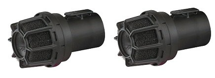 WORKSHOP Wet Dry Vacuum Muffler Diffuser WS25025A 2-1/2-Inch Muffler/Diffuser Shop Vacuum attachment For Shop Vacuums (2-(Pack))