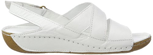 Andrea Conti 0775711, Women's Heels Sandals White (Weiß 001)