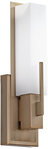Possini Euro Midtown 15''H Burnished Brass LED Wall Sconce by Possini Euro Design