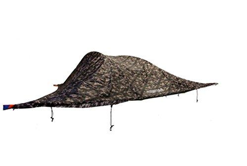 アコード笑い突然Tentsile Stingray tree tent テントサイル スティングレイ 3人用 宙に浮く新感覚テント (カモフラージュ)