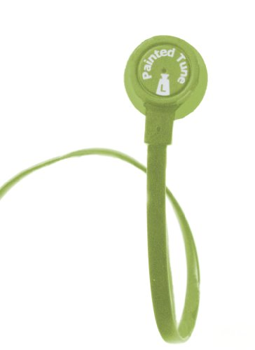 Dual Electronics Painted Tunes HF200G Tangle-Free Flat Wire Noise Reducing Earbuds with Carrying Case - Consumer Dual Headphones Electronics