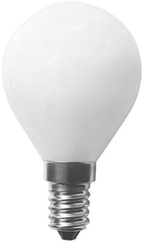 5x greenandco/® CRI90+ Gl/ühfaden LED Lampe ersetzt 30 Watt E14 G45 Globe 2 Jahre Garantie 3W 323 Lumen 2700K warmwei/ß Filament Fadenlampe 360/° 230V AC nur Glas flimmerfrei nicht dimmbar