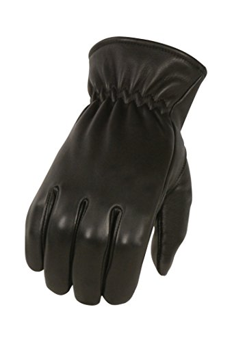 Milwaukee Leather Men's Deer Skin Winter Lined Gloves (Black, Large)