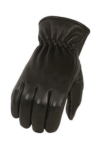 Milwaukee Leather Men's Deer Skin Winter Lined Gloves (Black, Large) -