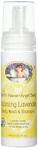 7. Earth Mama Angel Baby Calming Body Wash and Shampoo