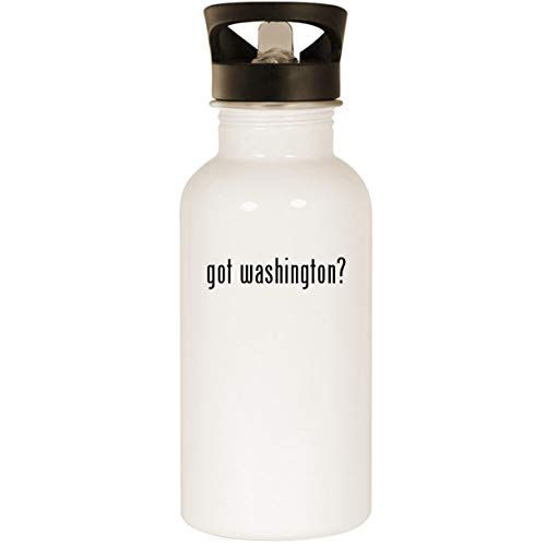 Patch Nationals Dc Washington (got washington? - Stainless Steel 20oz Road Ready Water Bottle, White)