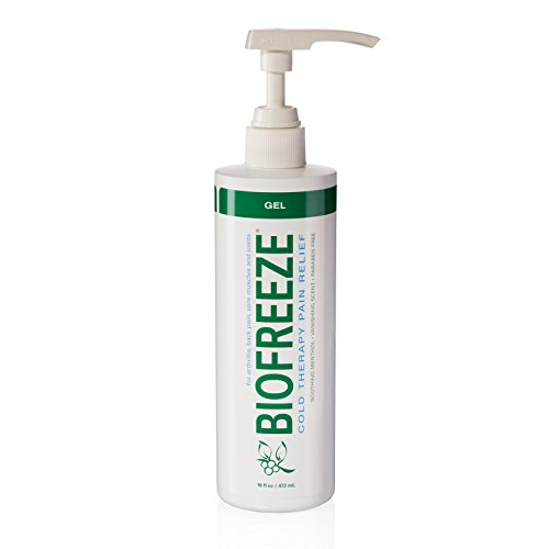 Biofreeze Pain Relief Spray for Arthritis, 16 oz. Bottle with Pump, Fast Acting & Long Lasting Cooling Pain Reliever for Muscle, Joint, & Back Pain, Cold Topical Analgesic with Original Green Formula (Freeze It Spray compare prices)