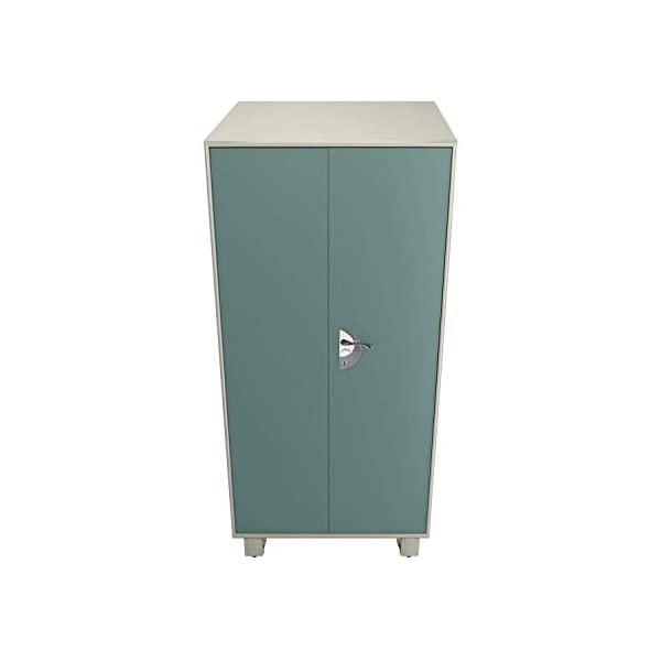 GODREJ INTERIO Storwel M3 Steel Almirah 2021 July The almirah features a dedicated storage for everything from your clothing to jewelry to accessories and shoes. Separate compartments ensure that your storage looks neat at all times. An internal locker with a separate key means that you have another layer of security for your belongings. You can still have a private space even if you are sharing the almirah with another person. The only thing better than a steel almirah is one with a mirror. The mirror added to this almirah acts as a dressing mirror. All you need to do is put a stool in front and you can save a lot of space.