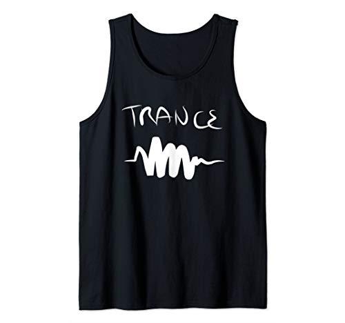 (Techno Trance Music T Shirt Tee Womens Mens Gift Tank Top)