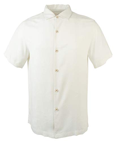 Tommy Bahama Luau Floral Silk Camp Shirt (Small, ()