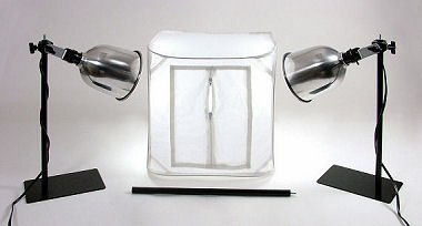 Alzo 100 Cool Lite 14 In Photo Light Tent Kit - 2 Lights by ALZO Digital